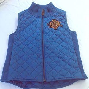 Ralph Lauren Jackets & Coats - Ralph Lauren Royal Blue Vest